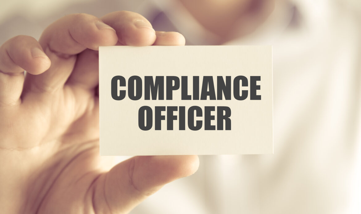 What are the typical duties of compliance officers?